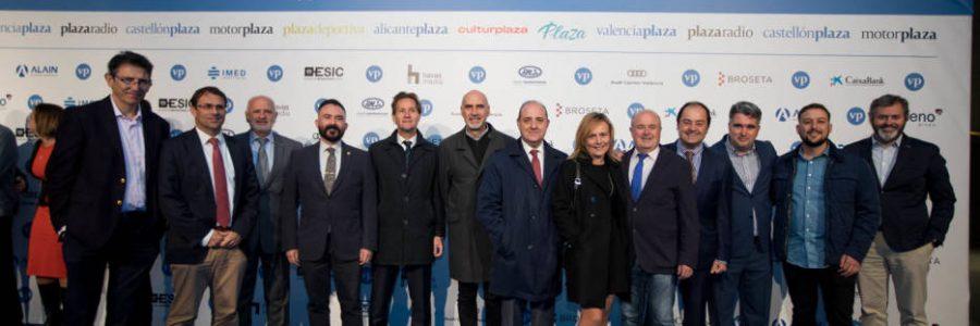 La AJV en la gala del 9é aniversari de València Plaza