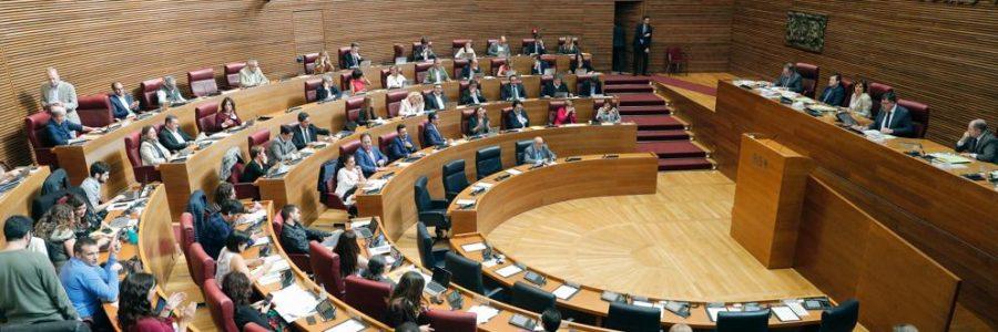 El Congreso debatirá la reforma del Estatuto valenciano en el último pleno del año