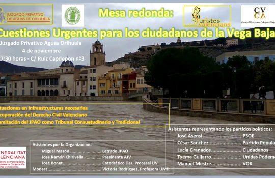 Debate electoral sobre retos para la Vega Baja