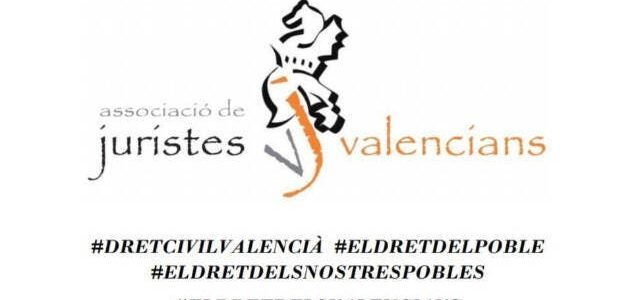 481 de los 542 municipios apoyan ya el Dret Civil Foral Valencià